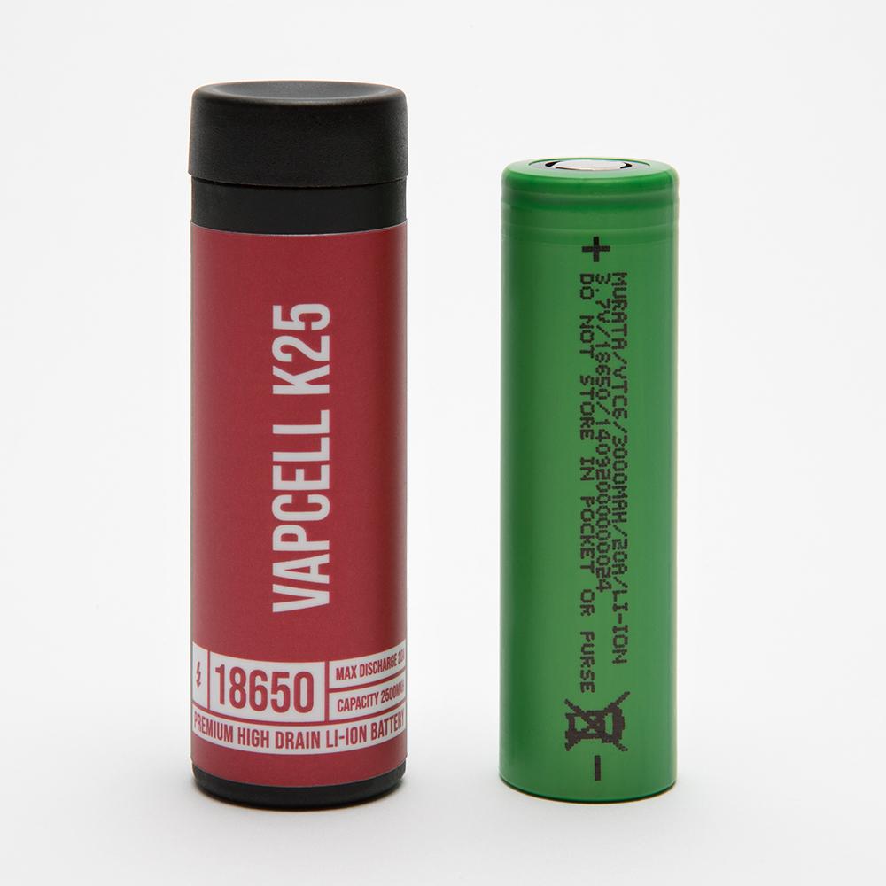 vapcell k25 18650 battery