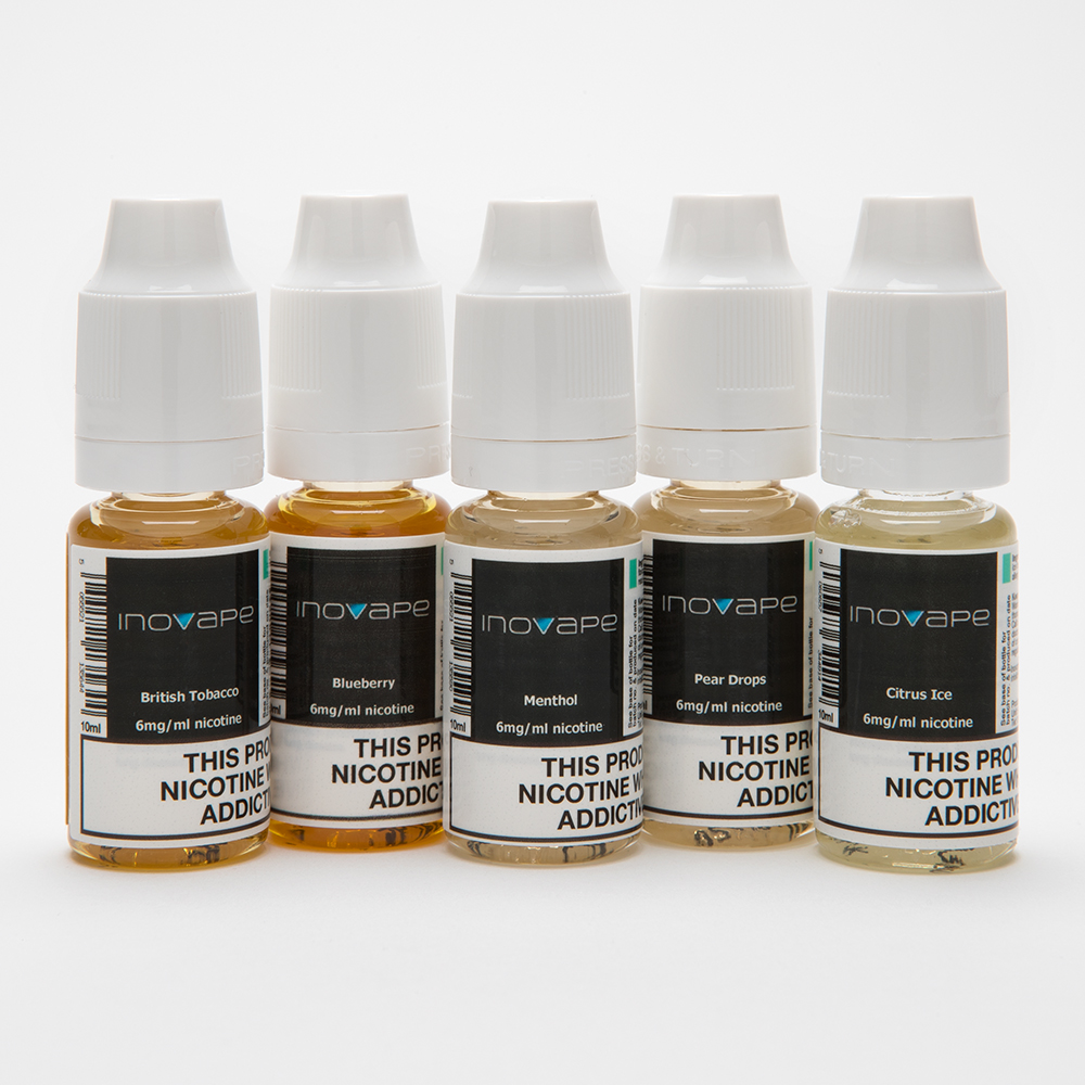 inovape 50/50 5 for £10 liquid