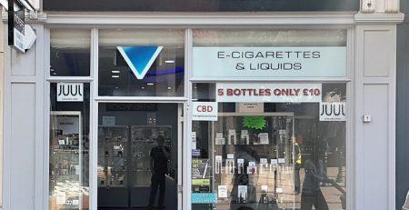 inovape birmingham shop front