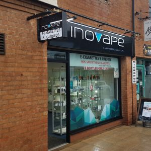 inovape stratford shop front